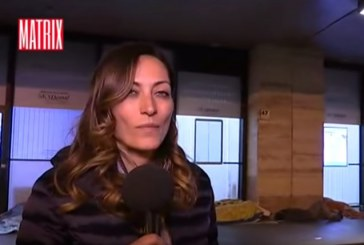 VIDEO Giornalista di Fondi aggredita in diretta tv su Matrix