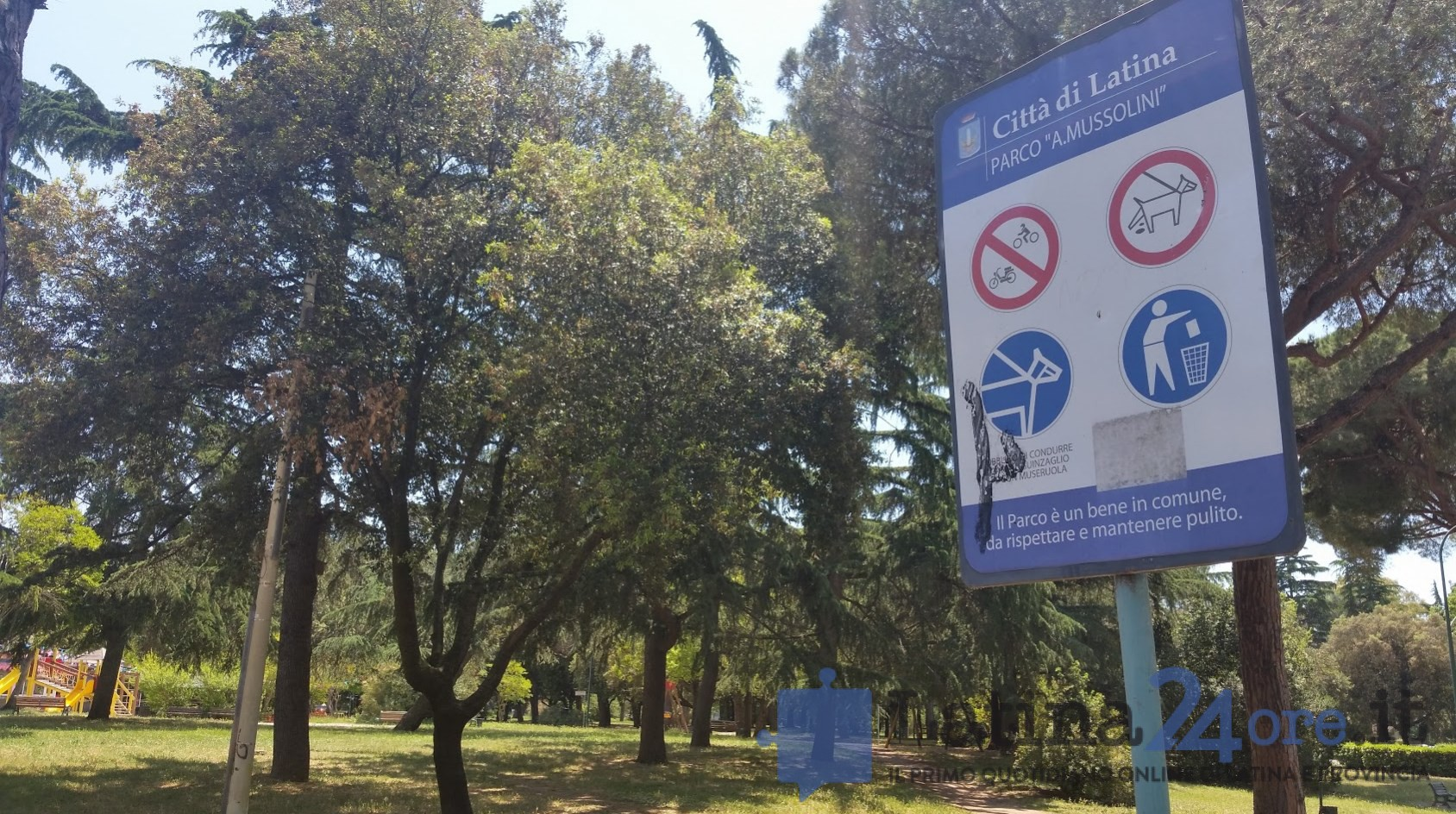 latina parco mussolini speeches - photo#9
