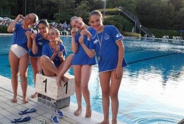 Aquaria conquista l'argento ai Campionati italiani di nuoto sincronizzato