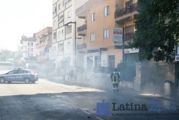 VIDEO Esplosione e incendio in una macelleria a Sermoneta Scalo