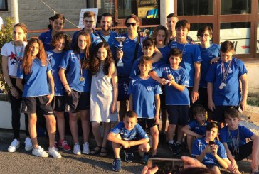 Nuoto, i giovani di Aquaria premiati a Guidonia