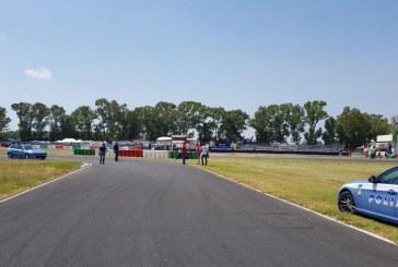 Dopo Max Biaggi un altro incidente alla pista del Sagittario: ferito un motociclista
