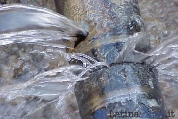 Guasto alla rete idrica, a Terracina mancherà l'acqua fino alle 14
