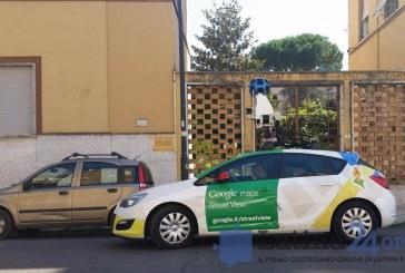 FOTO L'auto di Google in giro a Latina per aggiornare Street View