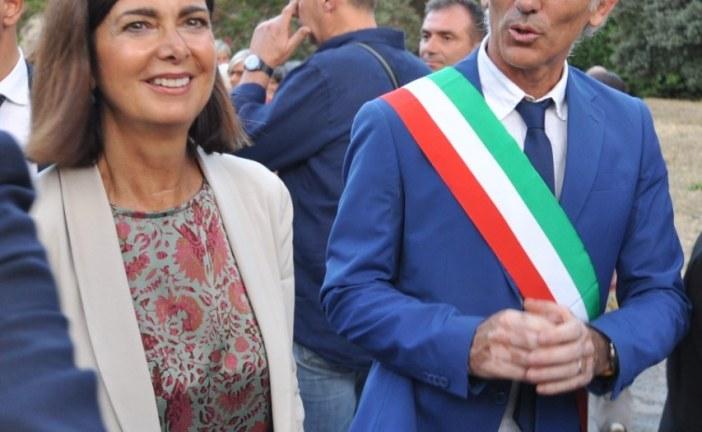 VIDEO INTEGRALE Intitolazione del parco di Latina a Falcone e Borsellino con Laura Boldrini