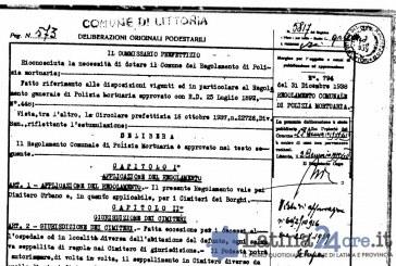 Cimitero di Littoria, spunta il regolamento del 1938. Potrebbe cambiare molte regole