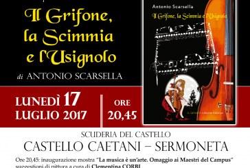Il nuovo giallo di Antonio Scarsella è ambientato nel castello di Sermoneta