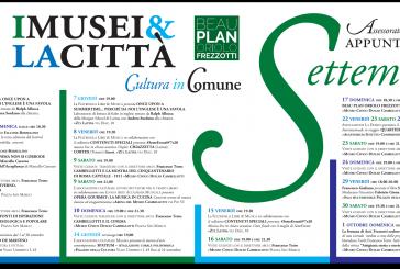 Il Comune presenta gli eventi culturali di settembre: il programma