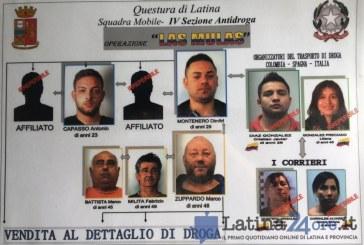Droga nascosta dalle donne nelle parti intime, 5 arresti a Latina e Aprilia