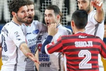 Volley, per il Latina prima vittoria stagionale a Sora