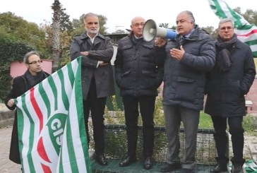 Manifestazione della Cisl: Aprite i cantieri per la nuova Roma-Latina
