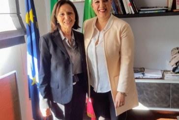 Il presidente della Provincia Eleonora Della Penna accoglie nuovo Prefetto Maria Rosa Trio