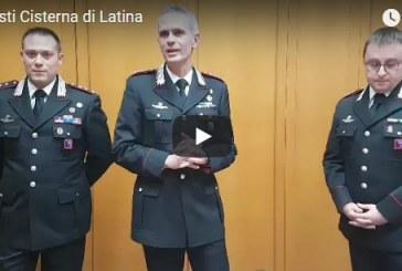 VIDEO Arresti a Cisterna, la conferenza stampa dei carabinieri