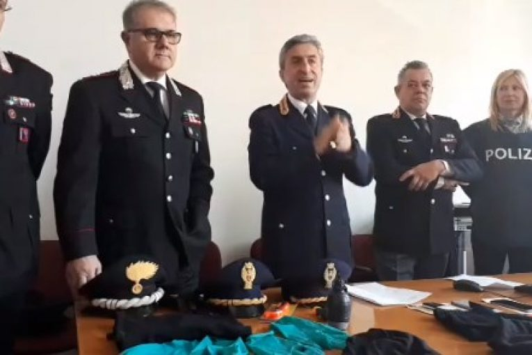 Tentano il colpo alla Banca Sella di Boccadifalco, la Polizia li arresta