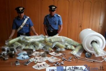 FOTO Operazione Amnesia, maxi retata dei carabinieri per droga a Latina