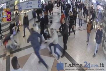 VIDEO Spaventosa rissa al centro commerciale Latinafiori, 4 persone fermate