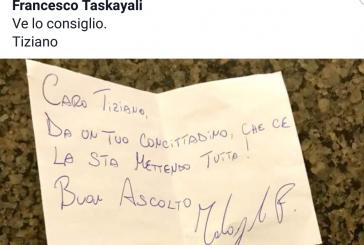 Tiziano Ferro su Fb fa i complimenti al pianista (concittadino) Francesco Taskayali