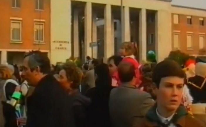 VIDEO Il carnevale a Latina nel 1992