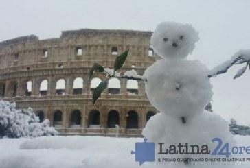 Neve a Roma, tutto previsto ma anche stavolta caos trasporti