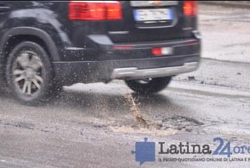 Coletta: 20 milioni di euro per sistemare tutte le strade di Latina