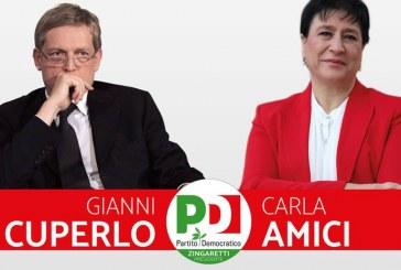 Elezioni, Gianni Cuperlo a Latina per sostenere Carla Amici