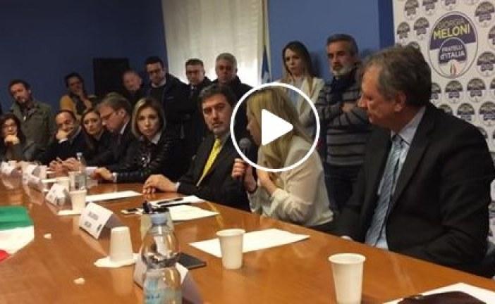 VIDEO Giorgia Meloni a Latina