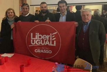 Elezioni, Liberi e Uguali presenta i candidati all'hotel Europa di Latina