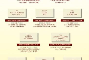 Latina, al via le nuove intitolazioni a Calicchia, Pertini, Alpi, Impastato, Cossetto. Ecco il calendario