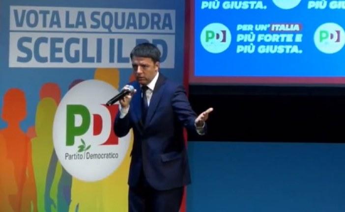 VIDEO Renzi a Latina: Il 4 marzo sceglierete se andare avanti o tornare indietro
