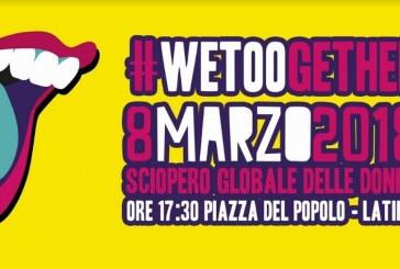 8 marzo, manifestazione a Latina nel nome di Martina e Alessia