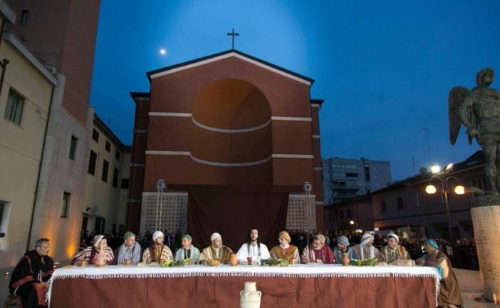 Aprilia, torna la Passione Vivente di Cristo in piazza Roma