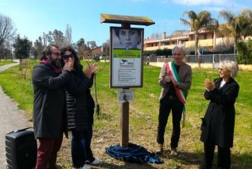 VIDEO FOTO A Latina un parco per Susetta Guerrini. Sarà curato dai ragazzi della coop Karibù