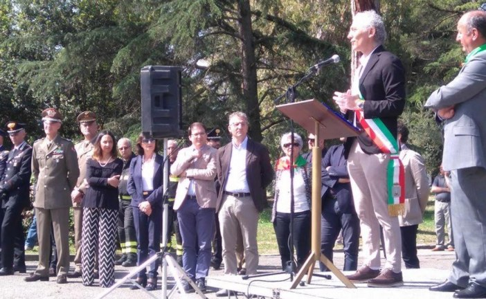 Il discorso di Coletta: il 25 aprile è il giorno in cui ricordiamo le nostre radici partigiane e antifasciste
