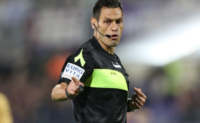 Calcio, un arbitro di Aprilia dirigerà Juventus-Sampdoria