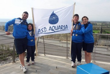 Nuoto, Aquaria conquista tre medaglie nel campionato nazionale