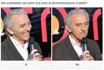 Sondaggio: Sei soddisfatto dei primi due anni di amministrazione Coletta?