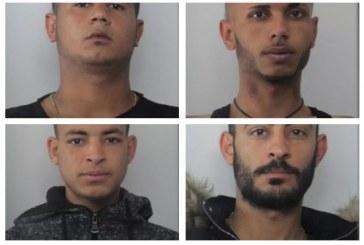 FOTO Furti e rapine alle autolinee, 5 arresti della polizia