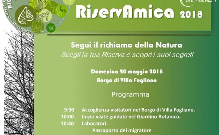 Domenica Riservamica a Fogliano, visite al giardino botanico
