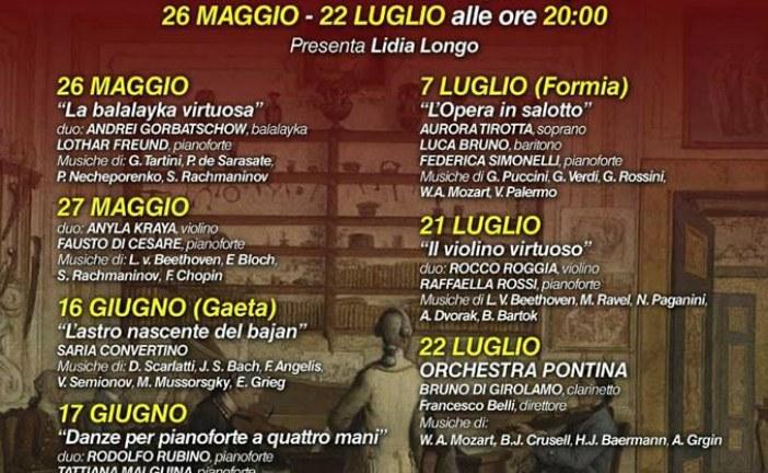Sperlonga dedica un'intera settimana a Mozart