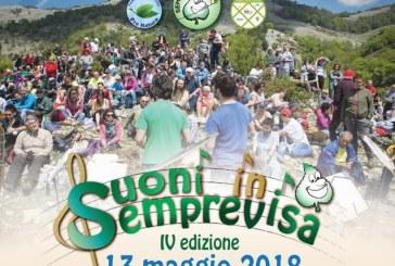 Domenica 13 maggio torna Suoni in Semprevisa