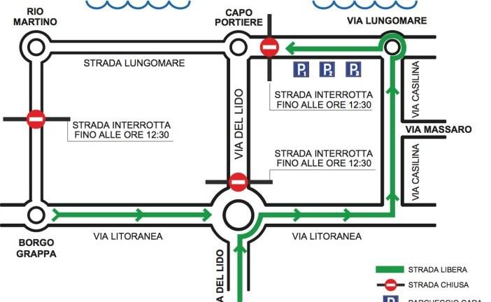 Latina Lido Triathlon Sprint, domenica traffico chiuso al mare