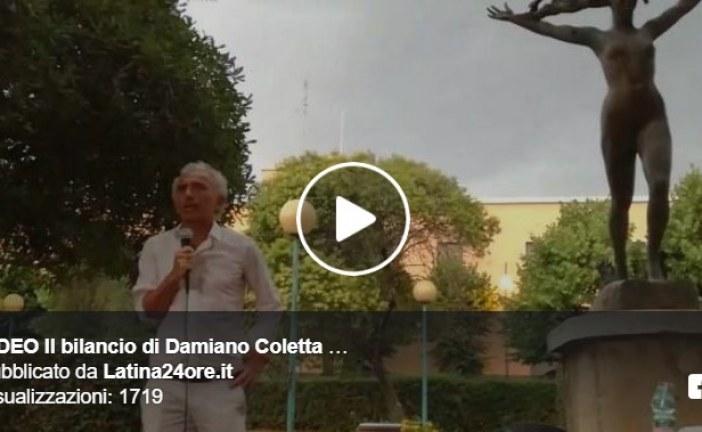 VIDEO Il bilancio di Damiano Coletta: ecco 8 punti realizzati