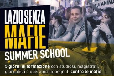 Regione, lezione di Coletta alla Summer School sulle mafie nel Lazio