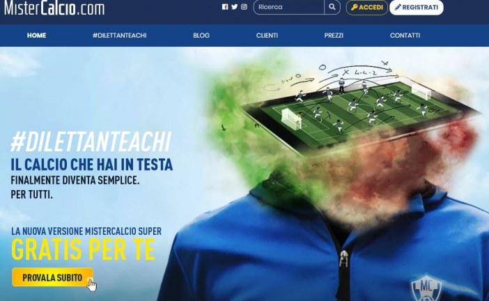 Mistercalcio.com. Due giovani di Latina inventano la web app per gli allenatori di calcio