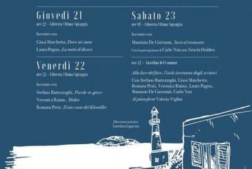 Ventotene, torna il Festival Letterario Gita al Faro