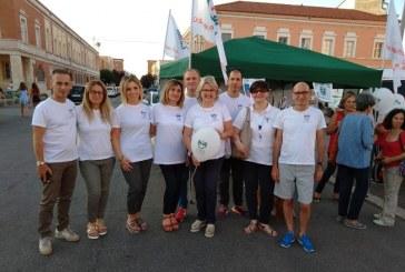 Infermieri di Latina in piazza del Popolo per dare consigli e rispondere alle domande