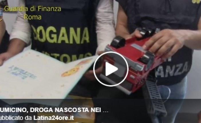 VIDEO Fiumicino, droga nascosta nei giocattoli e nel latte in polvere