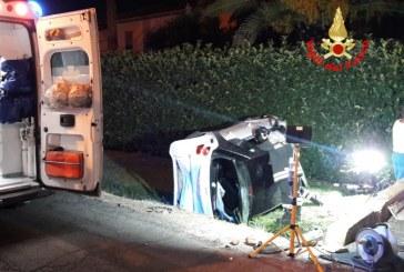 Incidente in via Piave a Latina, due feriti