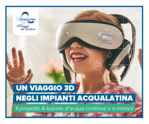 Acqualatina, 3D