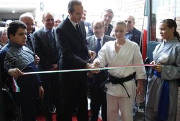 Aprilia, inaugurata la nuova palestra del Rosselli